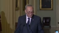 Senate Minority Leader Charles Schumer of New York says as the Senate considered the defense authorization that Democrats had agreed to a number of...