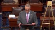 Senate Minority Leader Chuck Schumer of New York begins a floor speech responding to the disclosed data breach of credit monitoring bureau Equifax...