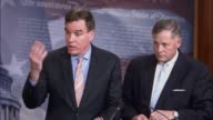 Senate Select Intelligence Vice Chairman Mark Warner of Virginia tells reporters that Russia used 1000 paid internet trolls in its hacking campaign...