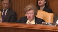 Senator Barbara Mikulski of Maryland delivers opening remarks at a hearing on executive action to deal with gun violence by the Obama administration...