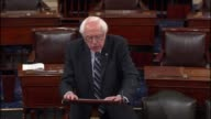 Senator Bernie Sanders of Vermont says the 40 million Americans still have no insurance Criticizes Republican response to take away insurance from 16...
