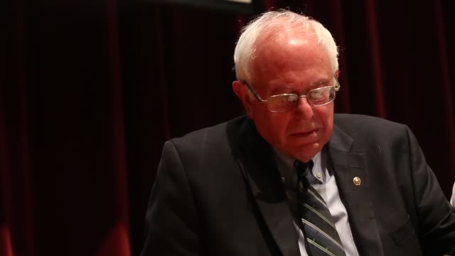 Senator Bernie Sanders speaks at a campaign event at Drake University on June 12 2015 in Des Moines Iowa Sanders an advocate of providing free...