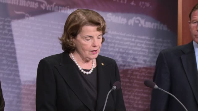 Senator Dianne Feinstein of California introduces legislation to ban / severely limit access to bumpstocks the accessories which make guns fire in...
