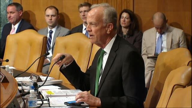 Senator Jerry Moran of Kansas asks Defense Secretary Ashton Carter about plans to close the Guantanamo Bay terrorist detainee facility observing that...