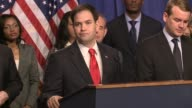 Senator Marco Rubio discusses the need for immigration reform comments in Spanish as well reforma migratorio gang of 8 US Senate Immigration Reform...