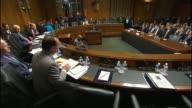 Senator Mike Lee of Utah urges against 'the most blunt and sweeping type of solution' in a Senate Judiciary hearing about data encryption says back...