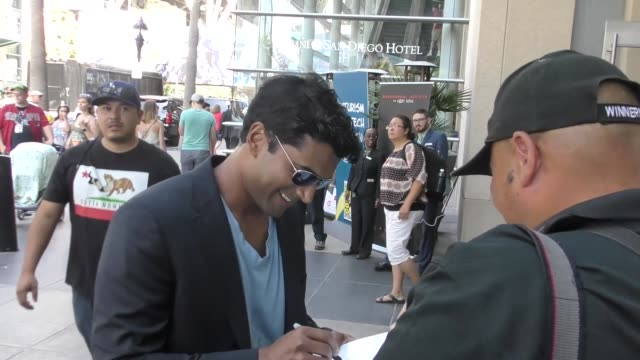 INTERVIEW Sendhil Ramamurthy on the best cosplay he has seen at Celebrity Sightings at San Diego ComicCon International on July 22 2017 in San Diego...