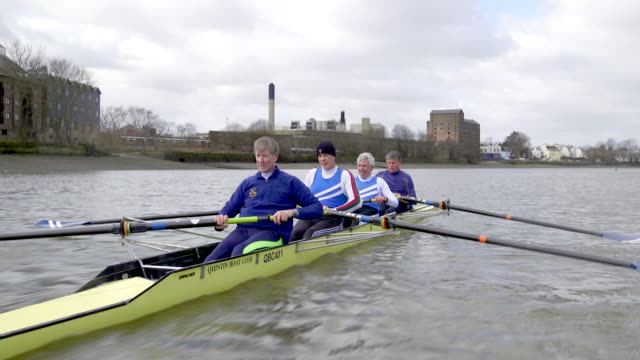 Senior Adults Rowing