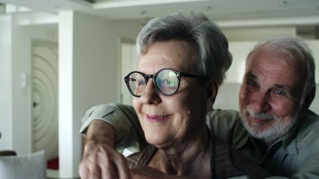 Senior couple enjoying time spent together