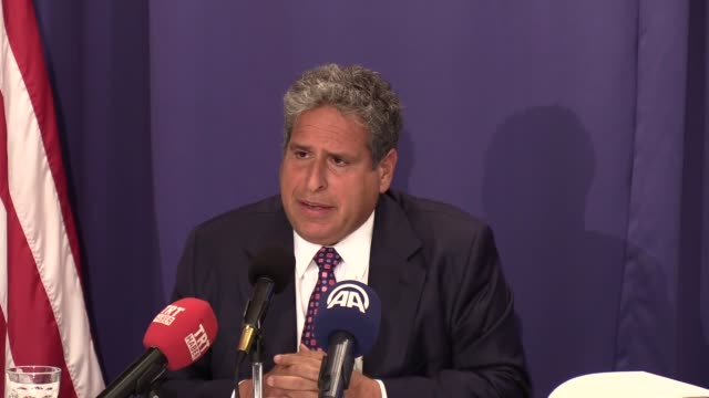Senior Partner of AmsterdamPartners Law Office Robert Amsterdam gives a speech during a press conference at the National Press Club in Washington...