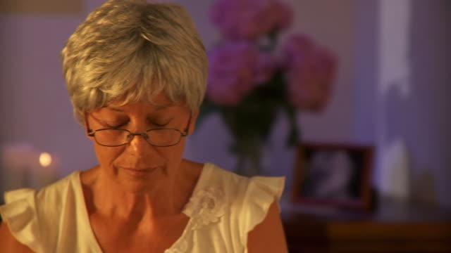 HD DOLLY: Senior Woman Reading