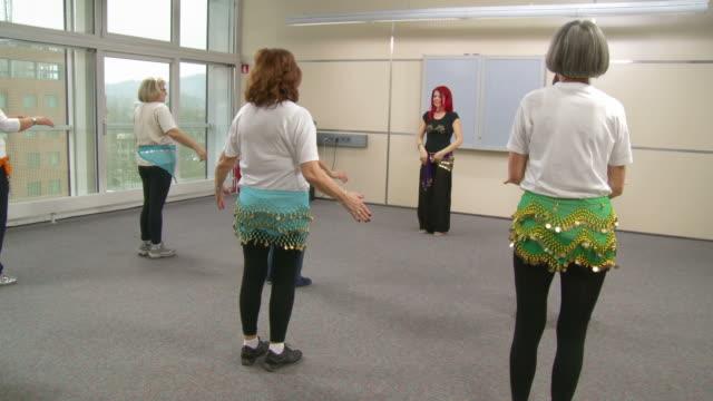 HD: Senior Women As Belly Dancers