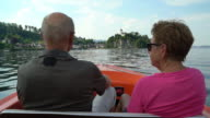 Seniors Taking on the World, boat trip at traunsee lake