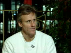 London Royal Albert Hall Bjorn Borg interview SOT Should not compare seniors tour with the regular ATP tour / People still enjoy seeing us play /...