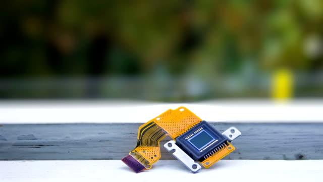 CCD sensor exposed