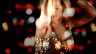 Sensual Blond Girl in Nightclub HD