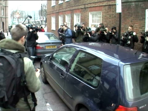 September 1 2007 WS Kate Middleton girlfriend of Prince William being surrounded by paparazzi she drives her car away from her home on her 25th...