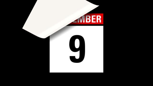September month calendar HD