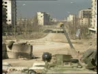 LIB Seq Russian troops and equipment on streets of Grozny
