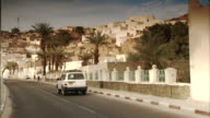 Sequence across the city of Djanet in Algeria.