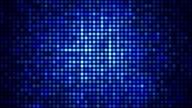 Luce riflettori blu paillettes
