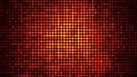 Paillette luce rossa in primo piano