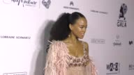 Serayah McNeill at The Wearable Art Gala at California African American Museum on April 29 2017 in Los Angeles California