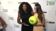 Serena Williams and Andi Dorfman at Taste of Tennis at W New York Hotel on August 27 2015 in New York City