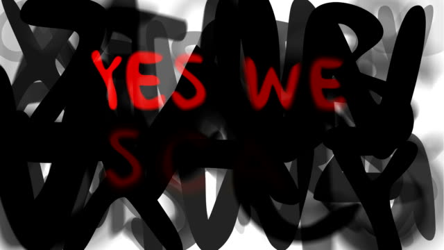 YES WE SCAN : series 'assemble your message' (LOOP)