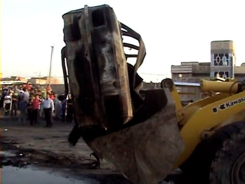 A series of five car bombs three during prayers at Shiite mosques in Baghdad and other attacks across Iraq killed 58 people on Friday just days after...