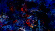 Series 'Universe and Indifferent' oilpainting SEVEN TWENTY - colorful (LOOP)