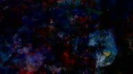 Series 'Universe and Indifferent' oilpainting SEVEN TWENTY - dark (LOOP)