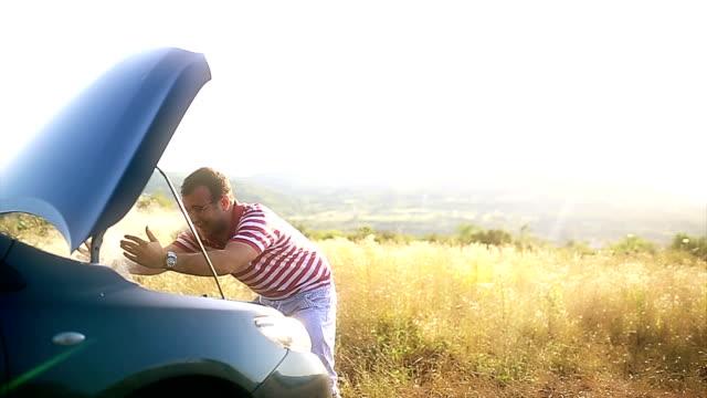 problem mit dem Auto, die sich in Luft auflösen