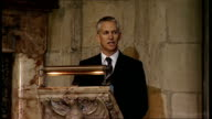 Service of thanksgiving for Sir Bobby Robson arrivals service and departures Gary Lineker tribute SOT I'll never forget the moment it was Monday 30th...