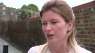 Servicemen arrested in neoNazi probe ENGLAND London EXT Melanie Smith interview SOT