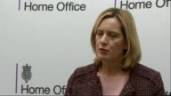 Servicemen arrested in neoNazi probe T12121605 / TX Home Office INT Amber Rudd MP press conference SOT National Action is a vile group they promote...