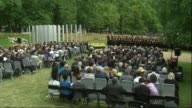 Services held to mark 10th Anniversary of 7/7 bombings Prince William attends Hyde Park Gerald Oppenheim speech SOT / MINUTE SILENCE / Sudhesh Dahad...