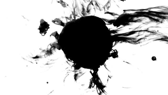 Satz von Ink Drops von unten HD
