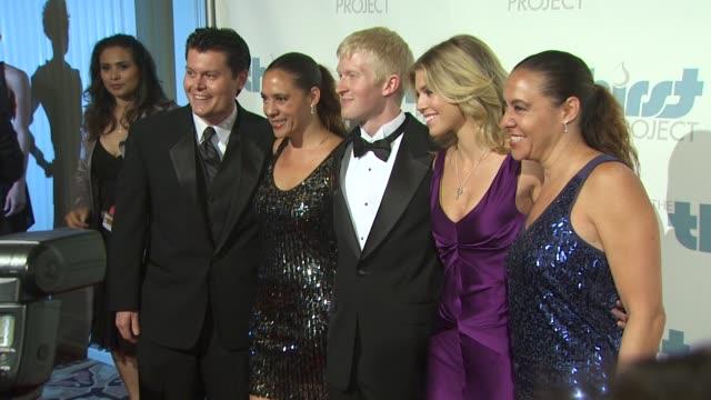 Seth Maxwell AnnaLynne McCord at the The Inaugural Thirst Gala at Santa Monica CA
