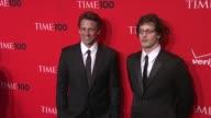 Seth Meyers and Andy Samberg at the 2010 Time 100 Gala at New York NY