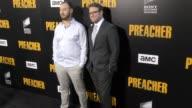 Seth Rogen Evan Goldberg at the Premiere Of AMC's 'Preacher' Season 2 on June 20 2017 in Los Angeles California