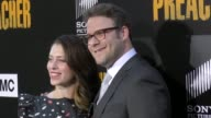 Seth Rogen Lauren Miller at the Premiere Of AMC's 'Preacher' Season 2 on June 20 2017 in Los Angeles California