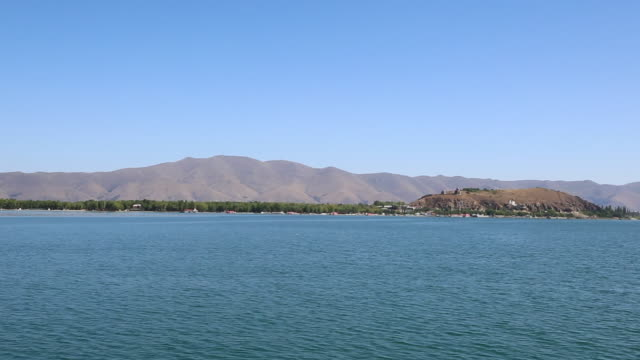 Sevan lake, view of the lake