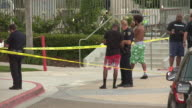 KSWB Seven people were injured and one woman died after a gunman opened fire at a University City apartment complex pool Sunday afternoon The gunman...