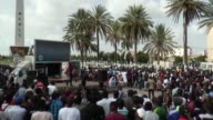 Several hundred demonstrators gather in several cities across French speaking Africa at the call of the Pan Africanist Emergencies movement to say no...