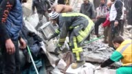 Several people were wounded when a market in Aleppos al Soukkari neighbourhood was hit Saturday by strikes believed to be Russian according to the...