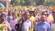 Several thousand Egyptians protested in Cairo Friday in support of ousted president Mohamed Morsi far fewer than had been hoped for by harried...