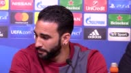 Sevilla press conference with manager Jorge Sampaoli and player Adil Rami Sampaoli talks about how Craig Shakespeare has got leiceste rplaying like...