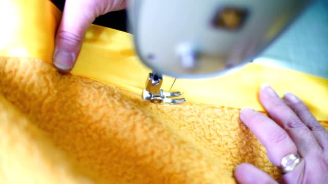 Sewing process.