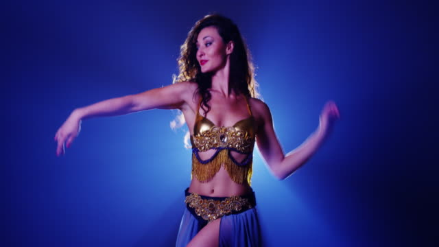 Sexy Argentinian woman belly dancer